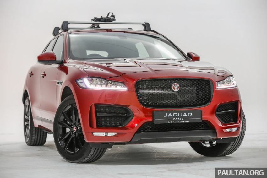 Jaguar F-Pace launched – 340 PS 3.0 V6, from RM599k Image #585989