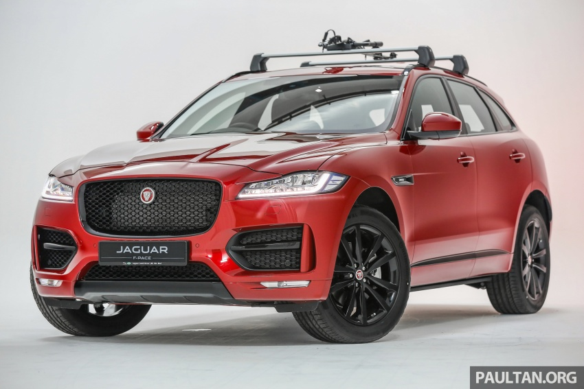 Jaguar F-Pace launched – 340 PS 3.0 V6, from RM599k Image #585990