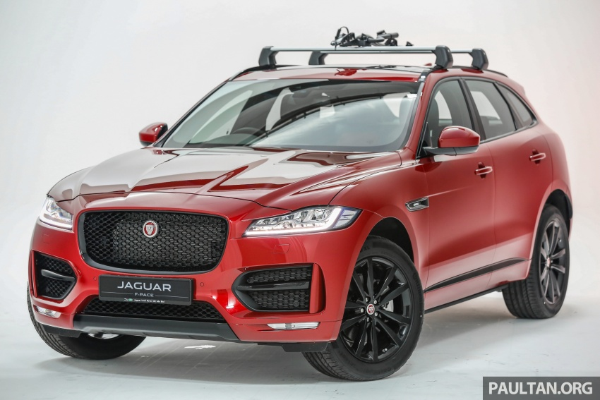 Jaguar F-Pace launched – 340 PS 3.0 V6, from RM599k Image #585991