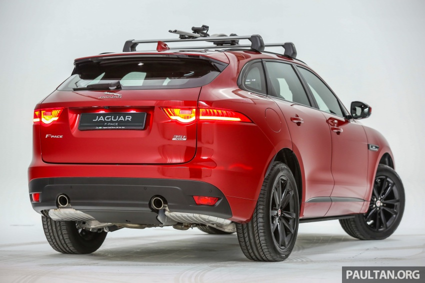 Jaguar F-Pace launched – 340 PS 3.0 V6, from RM599k Image #585992