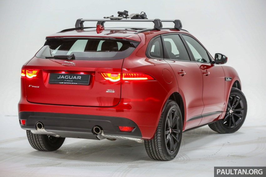 Jaguar F-Pace launched – 340 PS 3.0 V6, from RM599k Image #585993