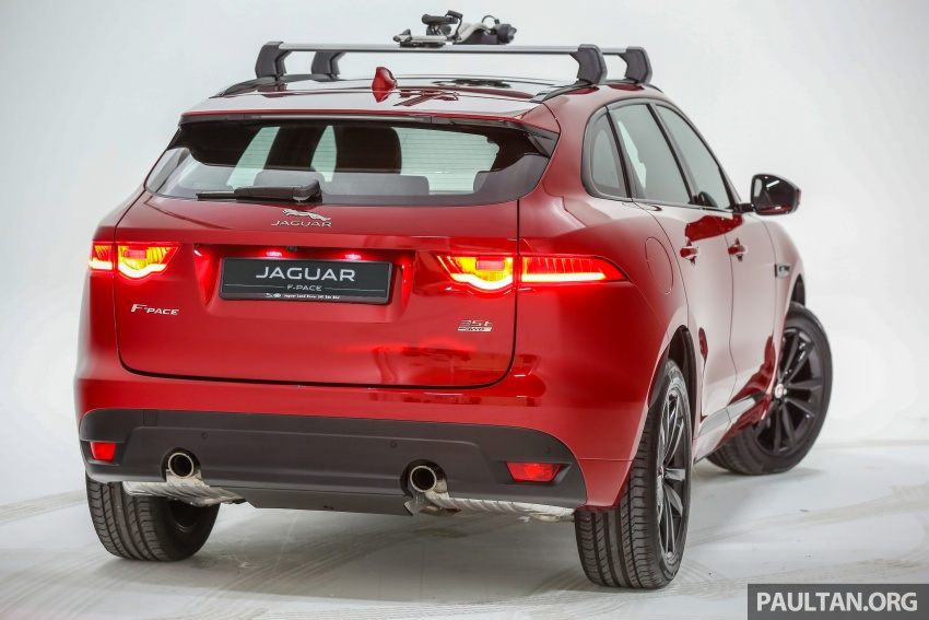 Jaguar F-Pace launched – 340 PS 3.0 V6, from RM599k Image #585994