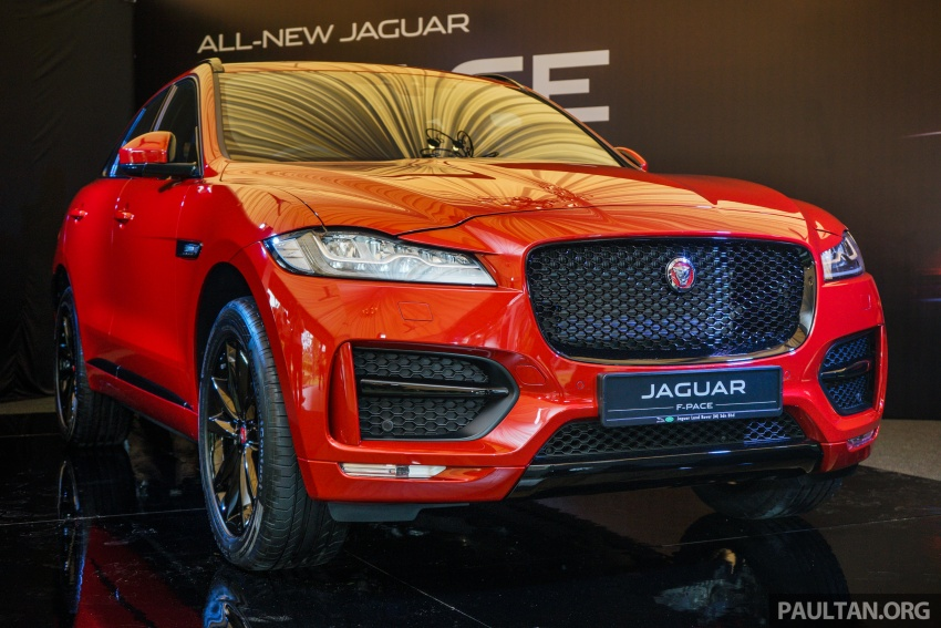 Jaguar F-Pace launched – 340 PS 3.0 V6, from RM599k Image #586270
