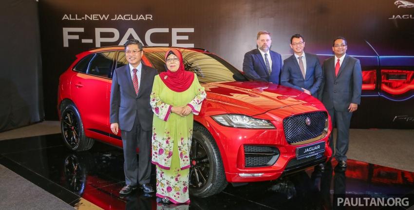 Jaguar F-Pace dilancarkan di Malaysia – 3.0L supercaj V6, varian Prestige, R Sport, harga dari RM599k Image #586263