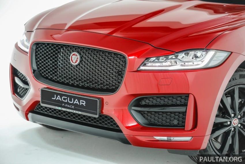 Jaguar F-Pace dilancarkan di Malaysia – 3.0L supercaj V6, varian Prestige, R Sport, harga dari RM599k Image #585368
