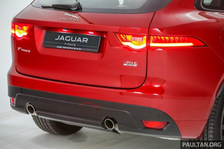Jaguar F-Pace dilancarkan di Malaysia – 3.0L supercaj V6, varian Prestige, R Sport, harga dari RM599k Image #585416