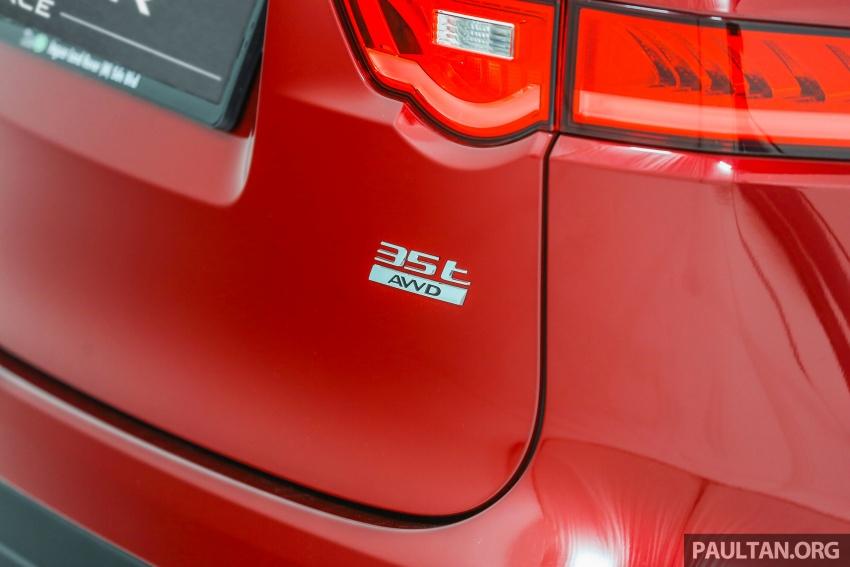 Jaguar F-Pace dilancarkan di Malaysia – 3.0L supercaj V6, varian Prestige, R Sport, harga dari RM599k Image #585422