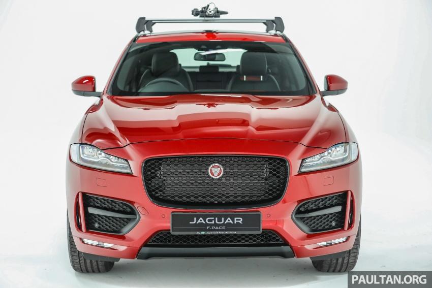 Jaguar F-Pace dilancarkan di Malaysia – 3.0L supercaj V6, varian Prestige, R Sport, harga dari RM599k Image #585359
