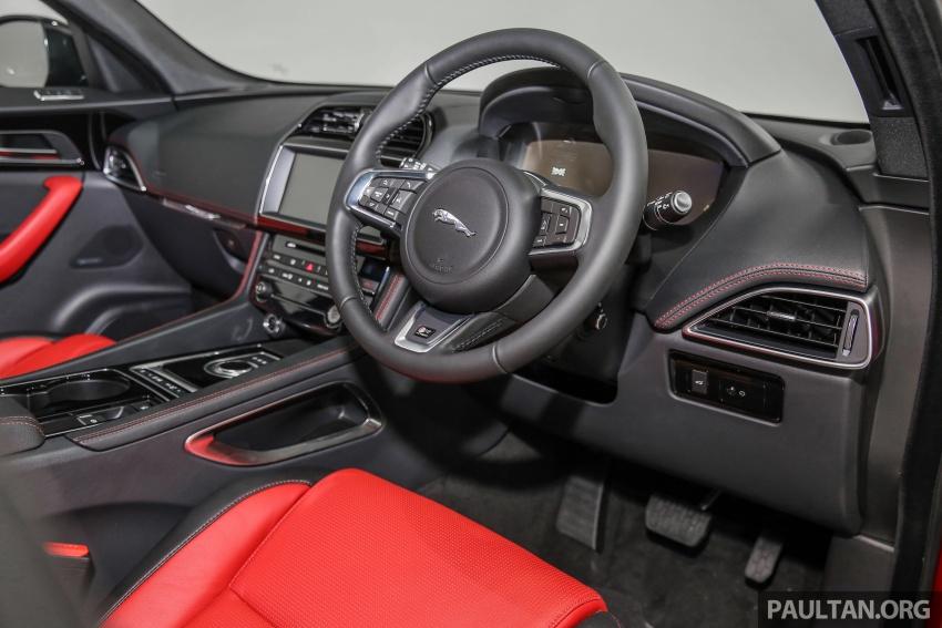 Jaguar F-Pace dilancarkan di Malaysia – 3.0L supercaj V6, varian Prestige, R Sport, harga dari RM599k Image #585439