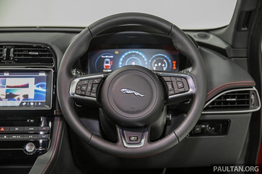 Jaguar F-Pace dilancarkan di Malaysia – 3.0L supercaj V6, varian Prestige, R Sport, harga dari RM599k Image #585441