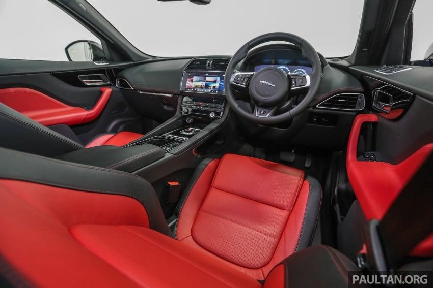 Jaguar F-Pace dilancarkan di Malaysia – 3.0L supercaj V6, varian Prestige, R Sport, harga dari RM599k Image #585508