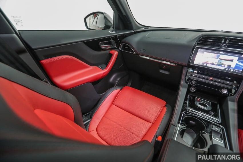 Jaguar F-Pace dilancarkan di Malaysia – 3.0L supercaj V6, varian Prestige, R Sport, harga dari RM599k Image #585510