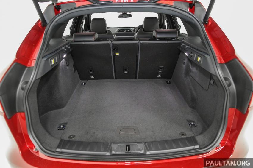Jaguar F-Pace dilancarkan di Malaysia – 3.0L supercaj V6, varian Prestige, R Sport, harga dari RM599k Image #585512
