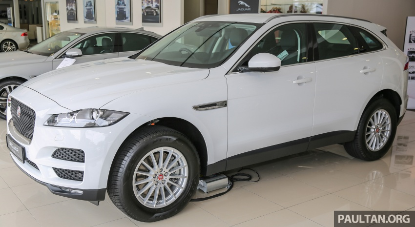 Jaguar F-Pace launched – 340 PS 3.0 V6, from RM599k Image #589141