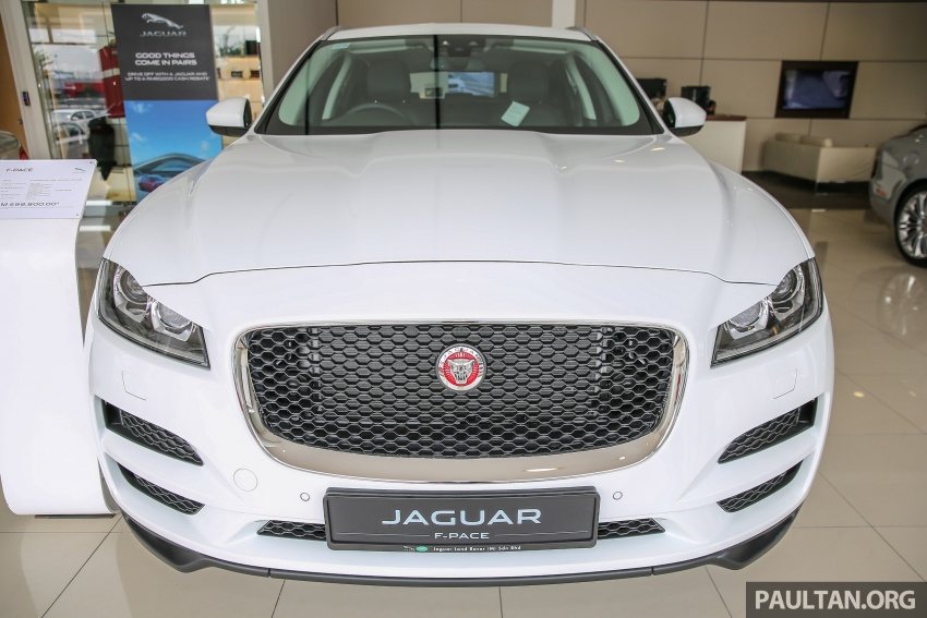 Jaguar F-Pace launched – 340 PS 3.0 V6, from RM599k Image #589145