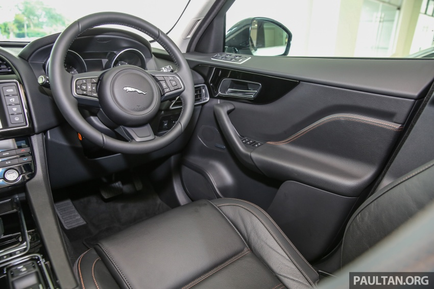 Jaguar F-Pace launched – 340 PS 3.0 V6, from RM599k Image #589195