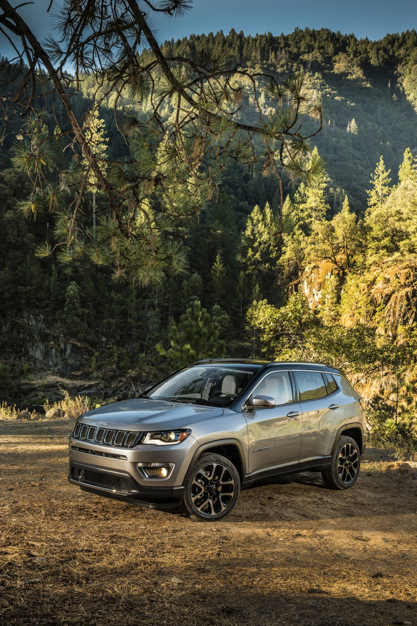 2017 Jeep Compass – full details of the compact SUV Image #582334