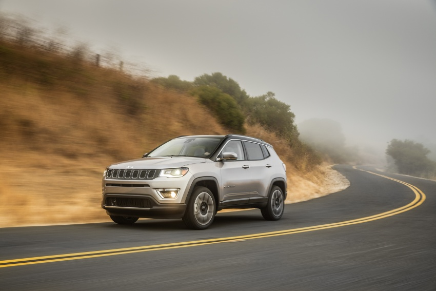 2017 Jeep Compass – full details of the compact SUV Image #582351