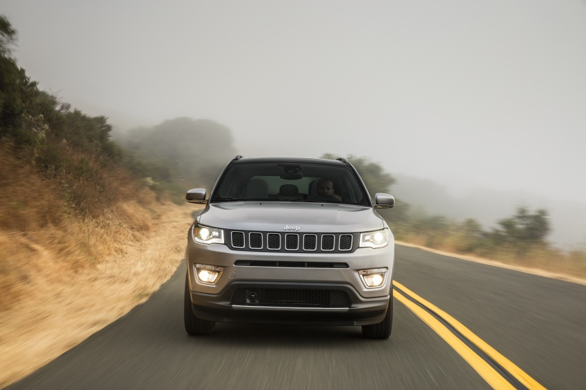 2017 Jeep Compass – full details of the compact SUV Image #582354