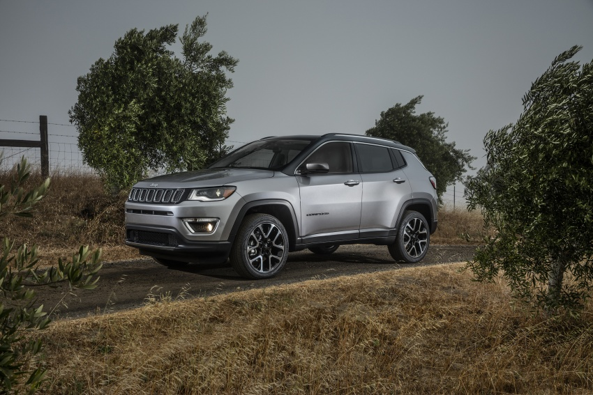 2017 Jeep Compass – full details of the compact SUV Image #582356
