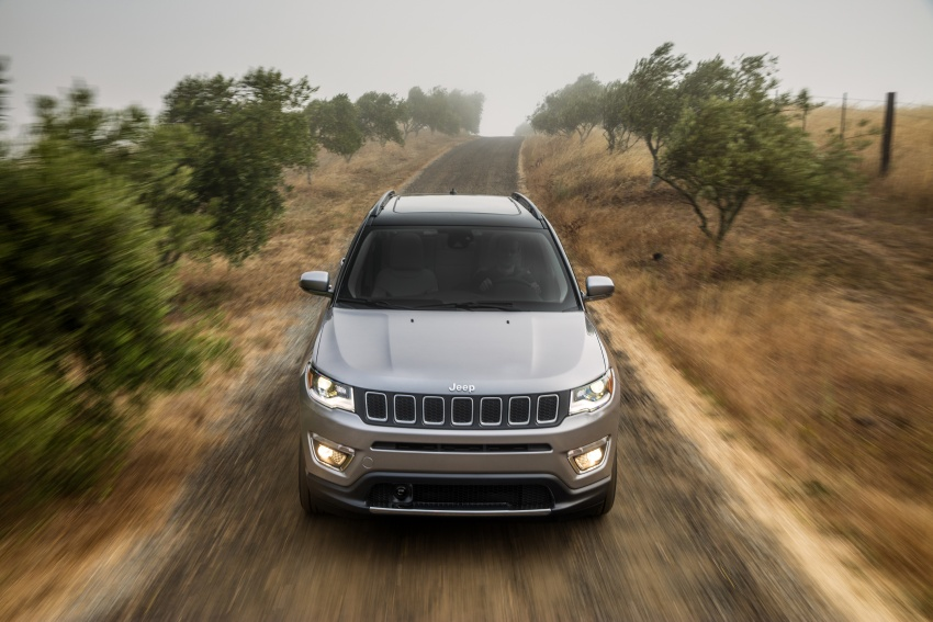 2017 Jeep Compass – full details of the compact SUV Image #582358