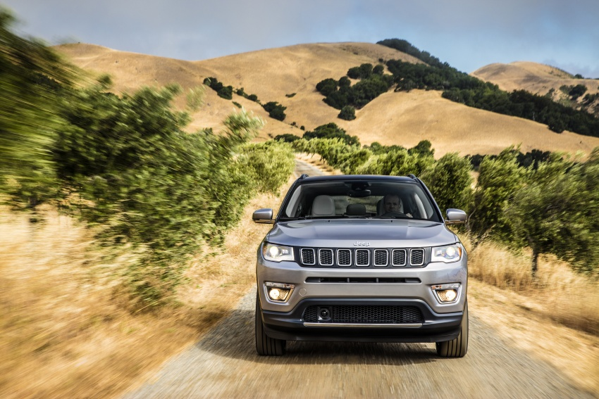 2017 Jeep Compass – full details of the compact SUV Image #582360