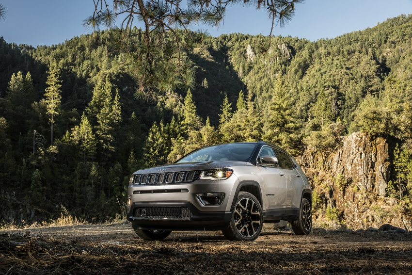 2017 Jeep Compass – full details of the compact SUV Image #582335