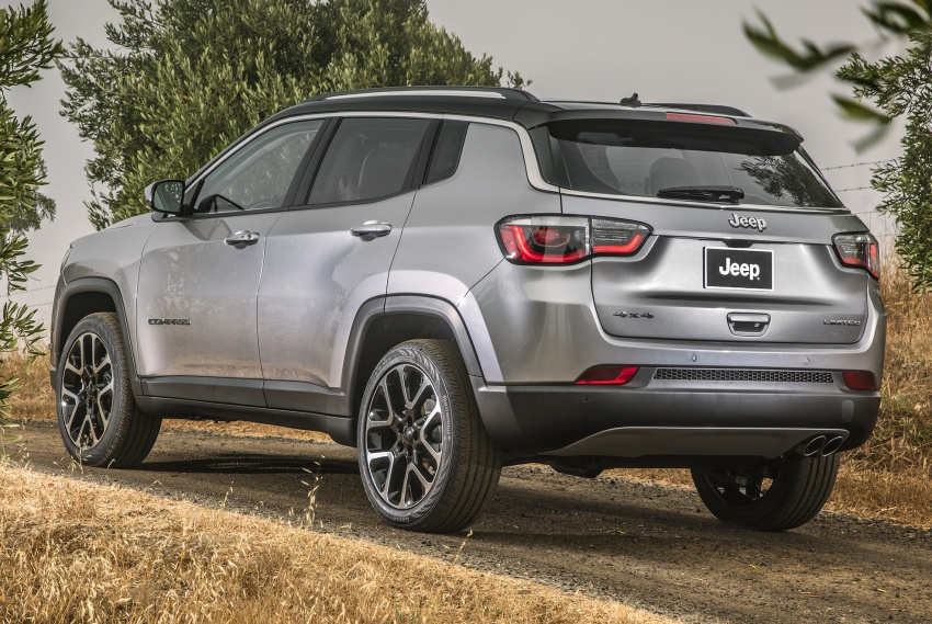 2017 Jeep Compass – full details of the compact SUV Image #582361