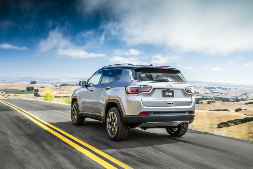 2017 Jeep Compass – full details of the compact SUV Image #582369