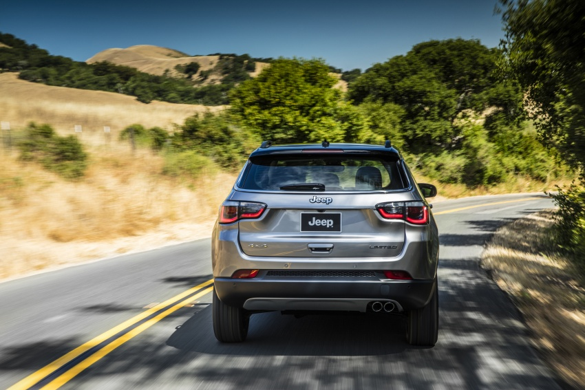 2017 Jeep Compass – full details of the compact SUV Image #582371