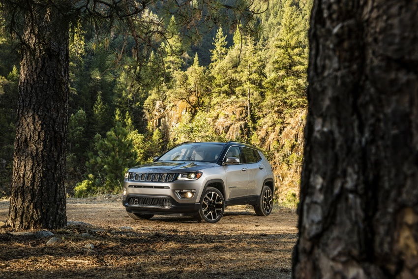 2017 Jeep Compass – full details of the compact SUV Image #582336