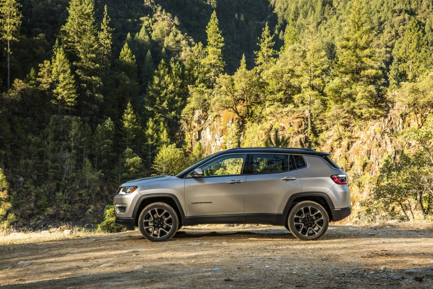2017 Jeep Compass – full details of the compact SUV Image #582338