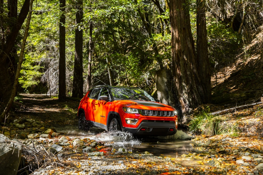 2017 Jeep Compass – full details of the compact SUV Image #582394