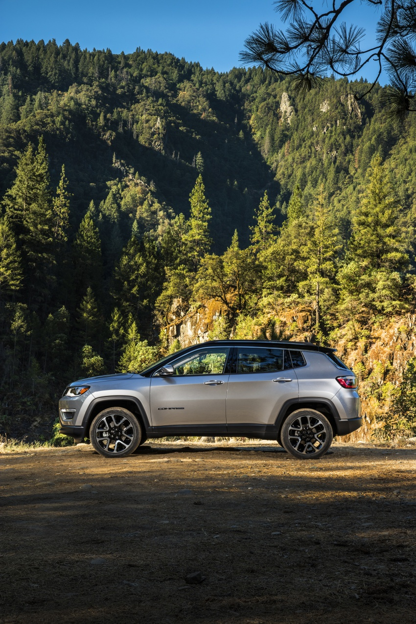 2017 Jeep Compass – full details of the compact SUV Image #582339