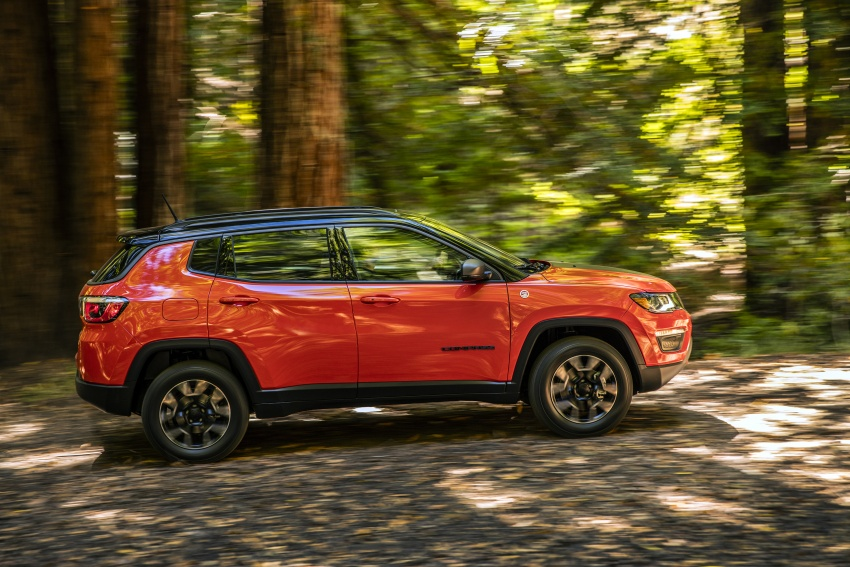 2017 Jeep Compass – full details of the compact SUV Image #582405