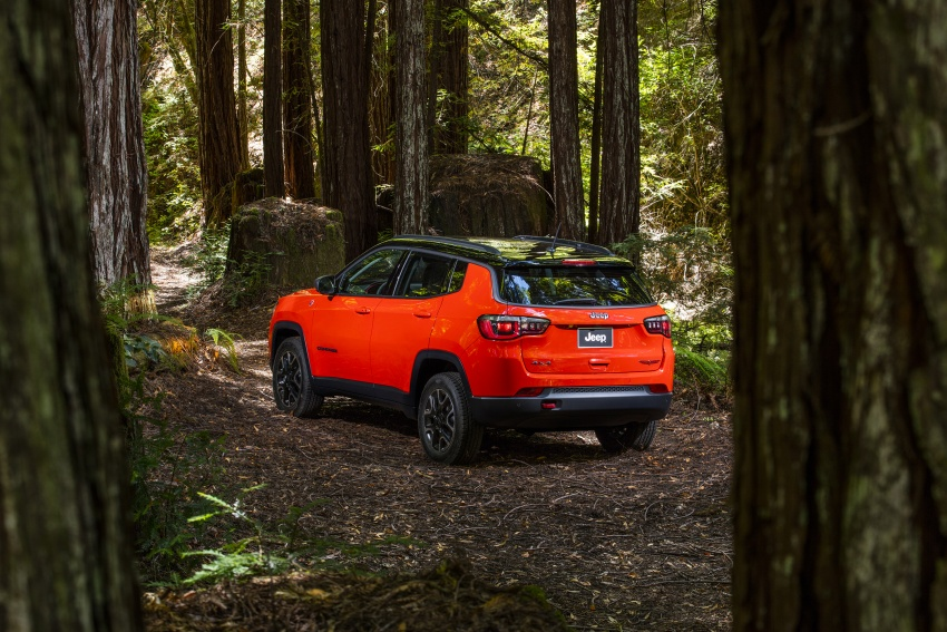 2017 Jeep Compass – full details of the compact SUV Image #582420