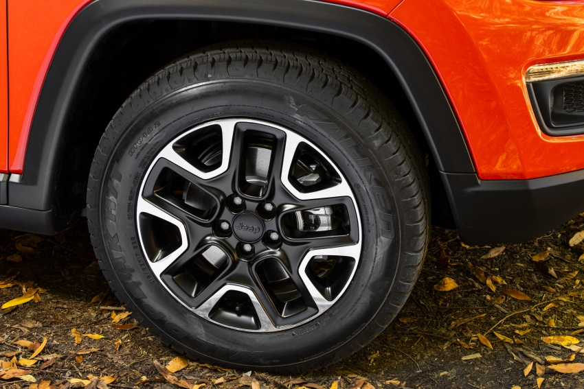 2017 Jeep Compass – full details of the compact SUV Image #582469