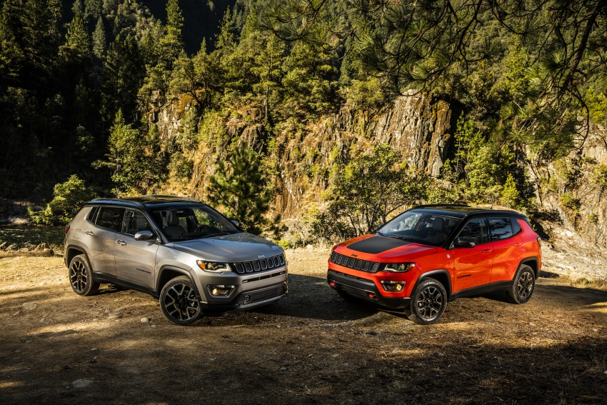 2017 Jeep Compass – full details of the compact SUV Image #582486