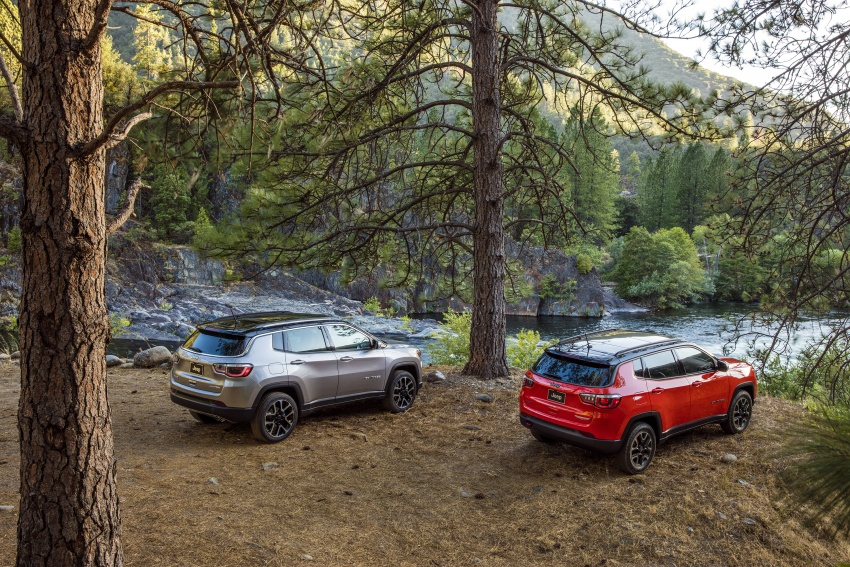 2017 Jeep Compass – full details of the compact SUV Image #582488