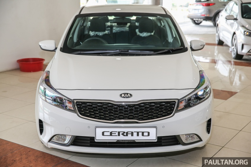Kia Cerato facelift now in showrooms – KX, 1.6L, 2.0L Image #572791