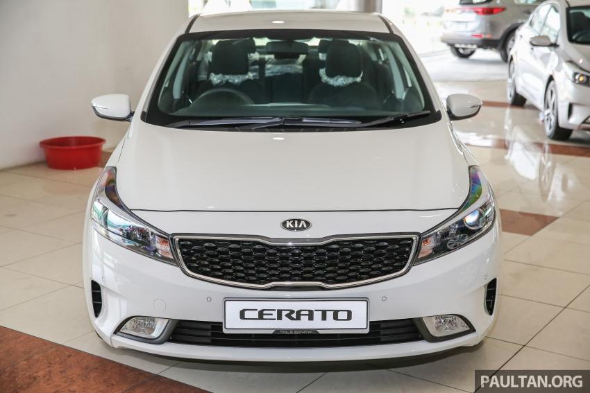 Kia Cerato facelift now in showrooms – KX, 1.6L, 2.0L Image #572791
