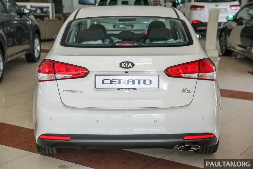 Kia Cerato facelift now in showrooms – KX, 1.6L, 2.0L Image #572792