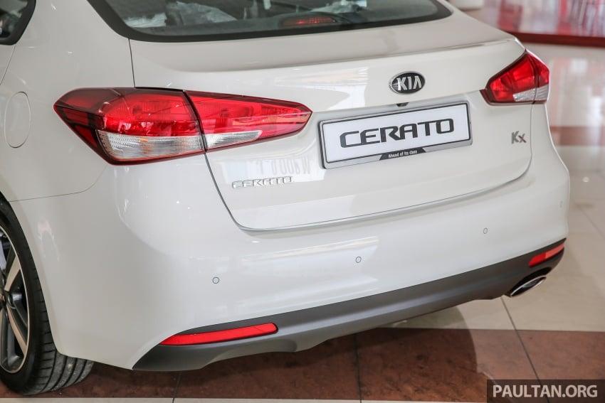 Kia Cerato facelift now in showrooms – KX, 1.6L, 2.0L Image #572794
