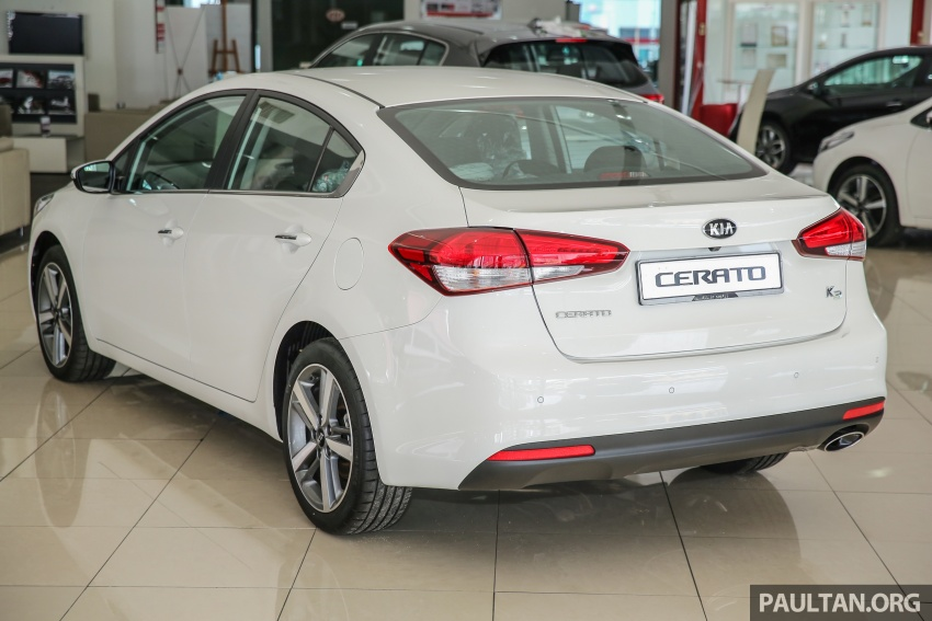 Kia Cerato facelift now in showrooms – KX, 1.6L, 2.0L Image #572772