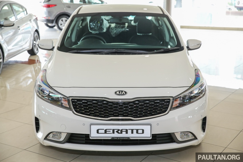 Kia Cerato facelift now in showrooms – KX, 1.6L, 2.0L Image #572773