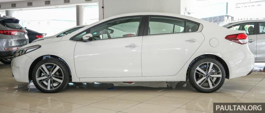 Kia Cerato facelift now in showrooms – KX, 1.6L, 2.0L Image #572775