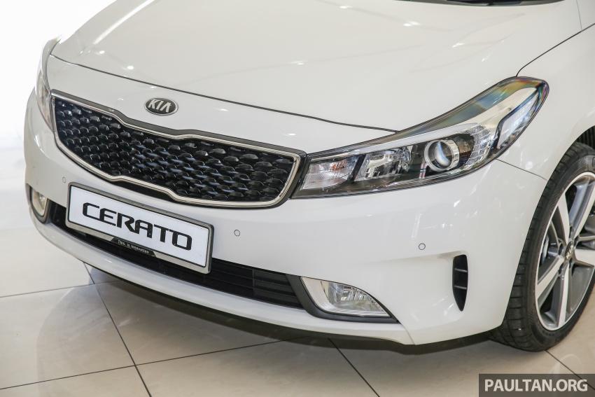 Kia Cerato facelift now in showrooms – KX, 1.6L, 2.0L Image #572776