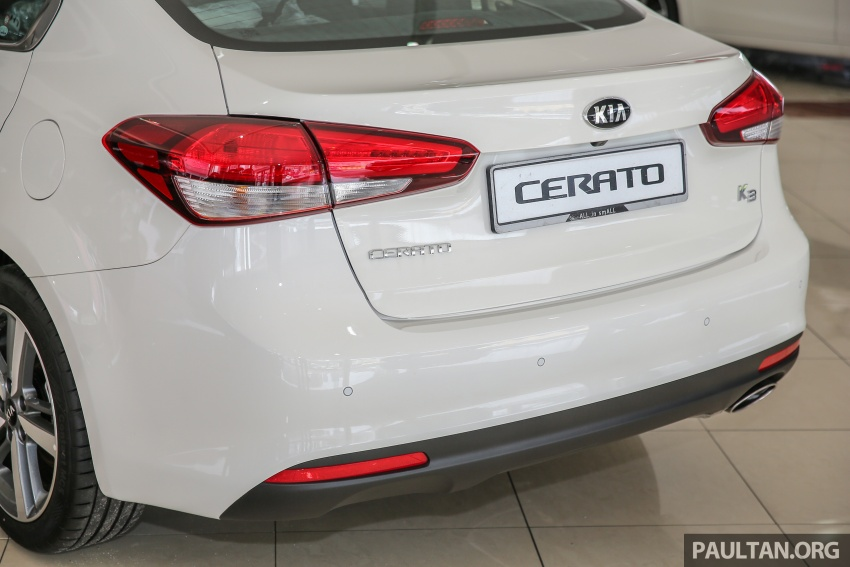Kia Cerato facelift now in showrooms – KX, 1.6L, 2.0L Image #572777
