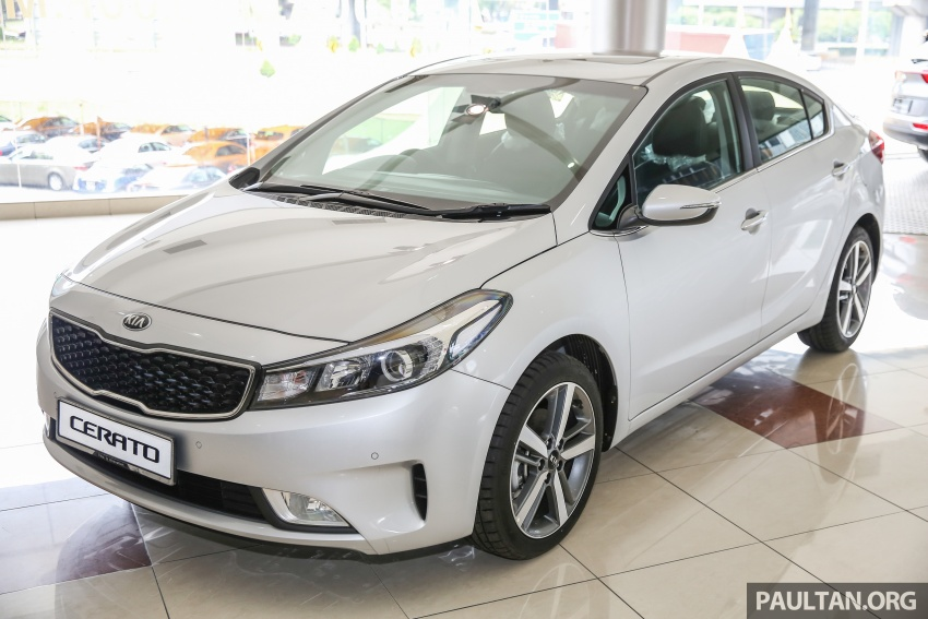Kia Cerato facelift now in showrooms – KX, 1.6L, 2.0L Image #572806