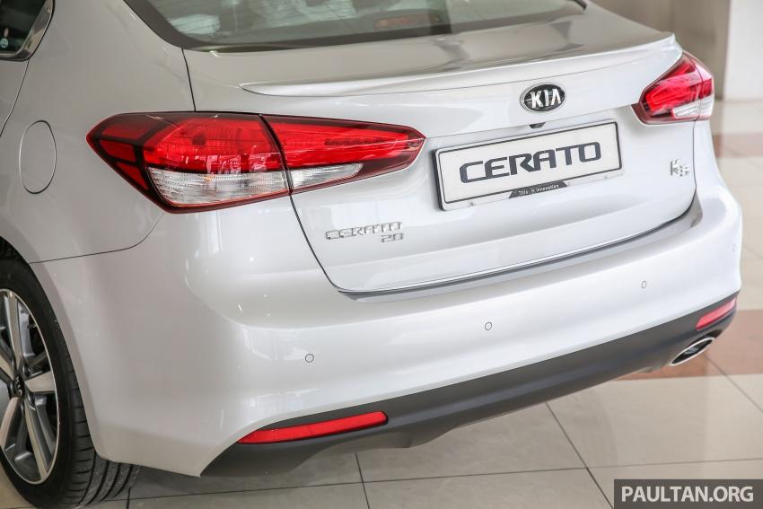 Kia Cerato facelift now in showrooms – KX, 1.6L, 2.0L Image #572826